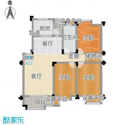 桂竹苑112.30㎡129m2户型