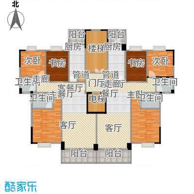 金利蓝湾新城户型6室2厅4卫2厨
