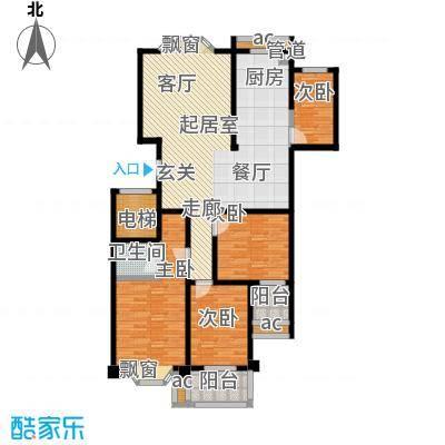 木莲花苑3号栋----C1(1428-m2)户型