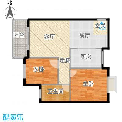 三城花苑89.92㎡14户型