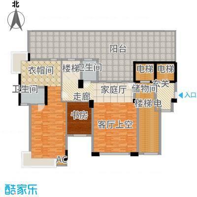 城市原筑8号楼D1S户型