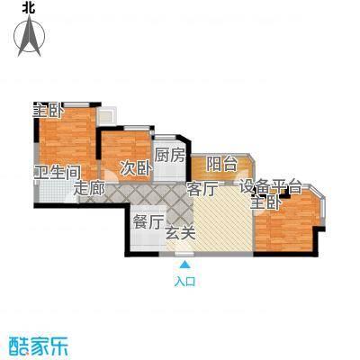 骏景豪庭93.11㎡2-04户型