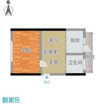 澎湖林苑46.80㎡户型
