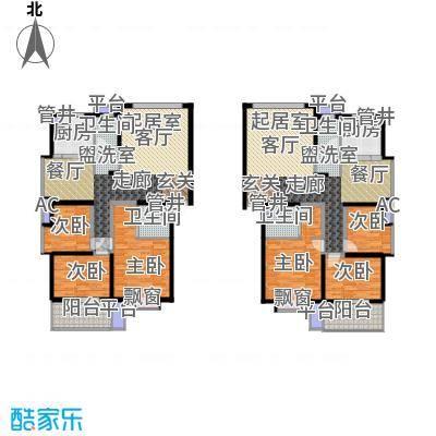 泰时・三湘金地115.00㎡3号栋0户型