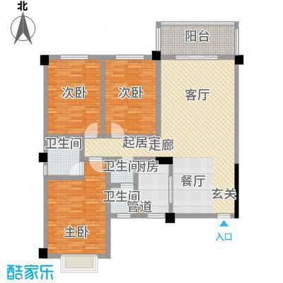 木莲花苑1号栋--A1348-m2户型