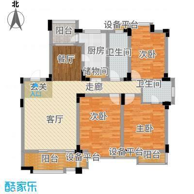 桂竹苑112.30㎡15009m2户型