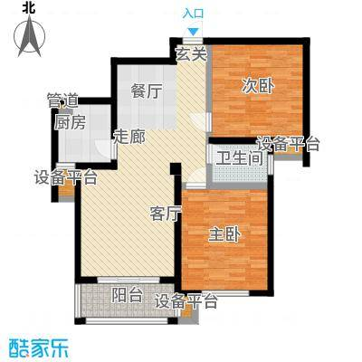 文锦新城9877m2户型