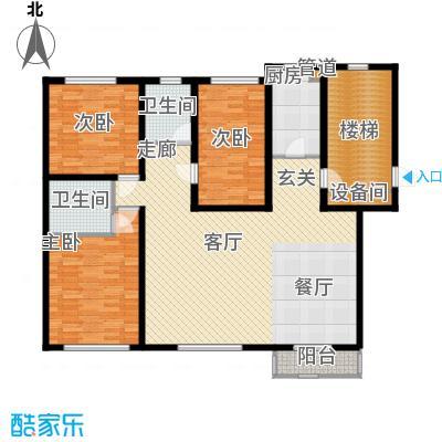 荣江嘉晨148.32㎡户型