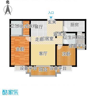 唐南香榭110.00㎡户型