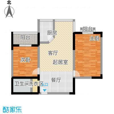 城南鑫苑82.12㎡户型