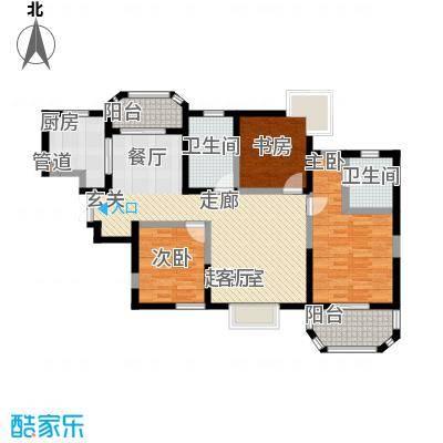 香克林小镇128.60㎡7/9号楼台/10号楼1单元/11号楼3单元户型