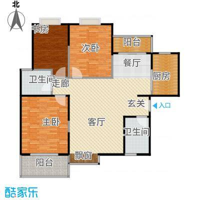 万国远鉴名筑119.52㎡A型结构户型
