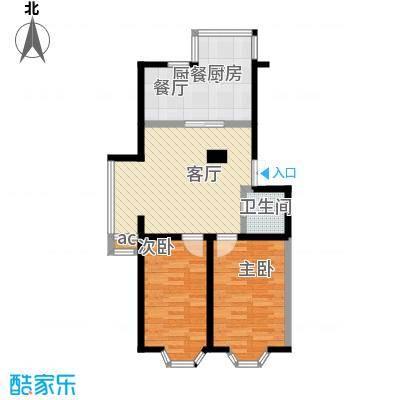 鑫丰雅苑82.45㎡户型