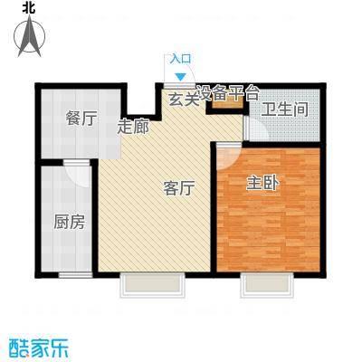 新悦轩96.00㎡B户型