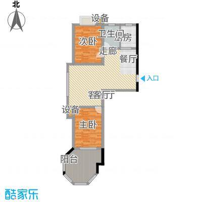 青青家园98.24㎡D户型