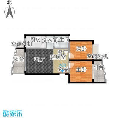 锦天华园77.95㎡房型户型
