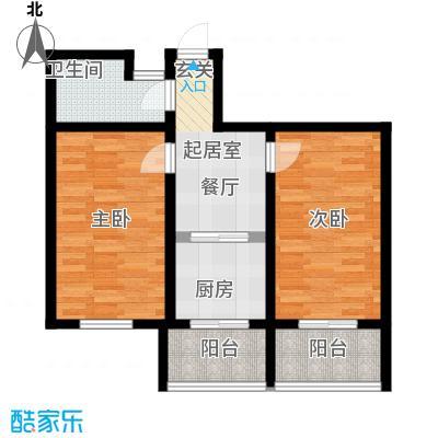 天吉锦程苑74.51㎡-2户型