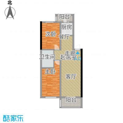 宏胜花园62.00㎡户型