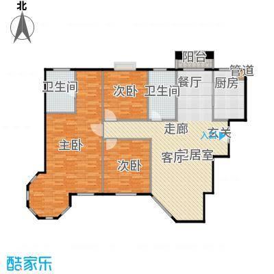 曲江6号136.01㎡J户型