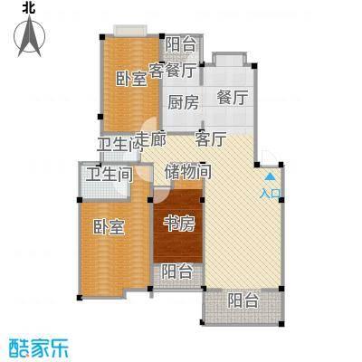 瀛洲湾花园户型1室1厅2卫