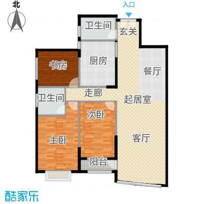 青洲豪庭131.73㎡B2户型
