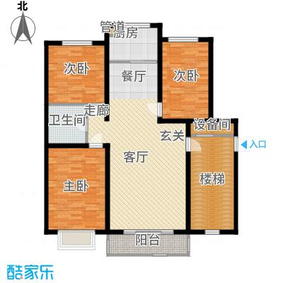 荣江嘉晨116.33㎡户型