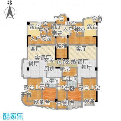 源昌鑫海湾户型2室2厅2卫2厨