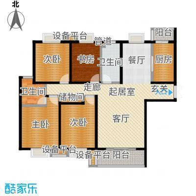 唐南香榭161.00㎡户型