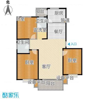 宝城名苑108.00㎡户型