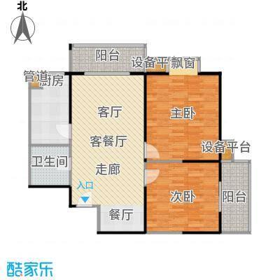 庆阳观邸98.39㎡户型