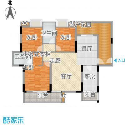 仁和WE城114.00㎡G户型