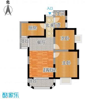 香克林小镇91.88㎡7/9号楼台/10号楼1单元/11号楼3单元户型