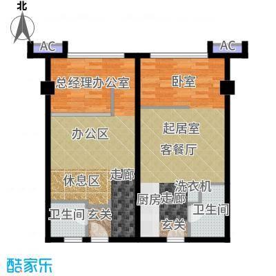泰时・三湘金地40.00㎡C户型