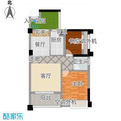 湘腾商业广场83.00㎡宏城户型