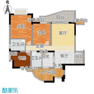 上海城二期100.27㎡-户型