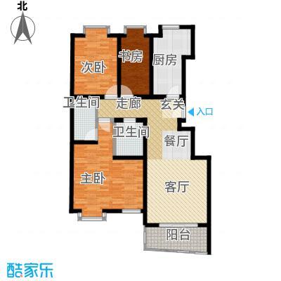 广顺现代城G1户型