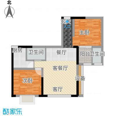 佳天・瑞宁花园户型1室1厅2卫1厨