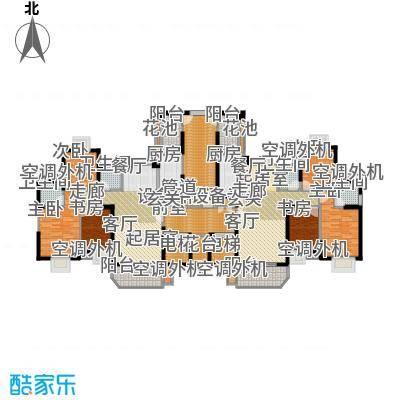 新景翡翠苑110.00㎡1#楼户型