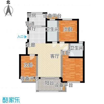 文锦新城11612m2户型