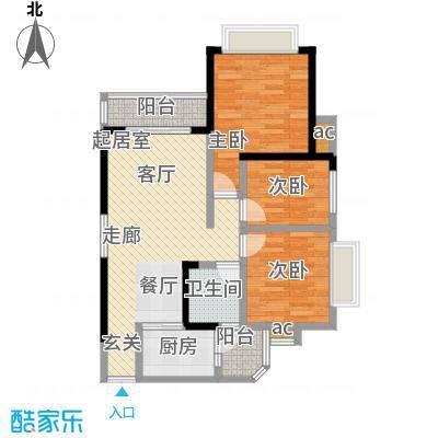 上海城三期单张31栋K1户型