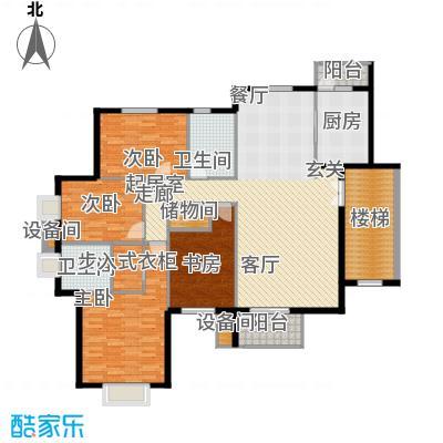 华业玫瑰谷173.37㎡H19栋户型
