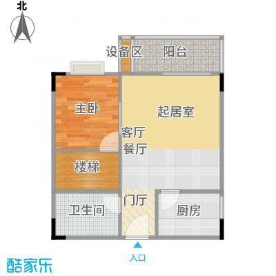 光宇阳光新世界44.00㎡房型户型