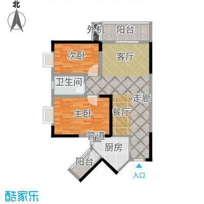 东门壹号91.94㎡A1/B1户型