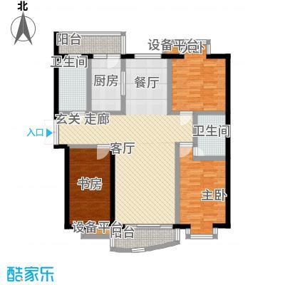 君悦豪庭115.00㎡户型