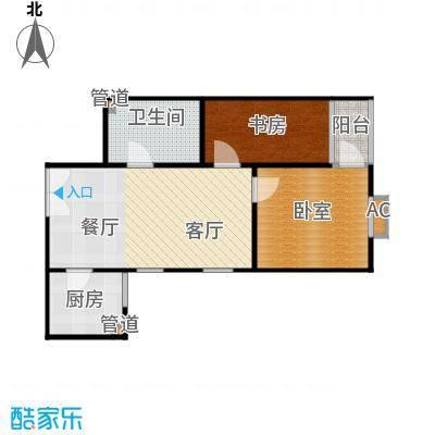 三丰公寓89.00㎡户型