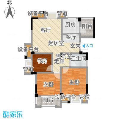 汉景嘉园93.00㎡F户型