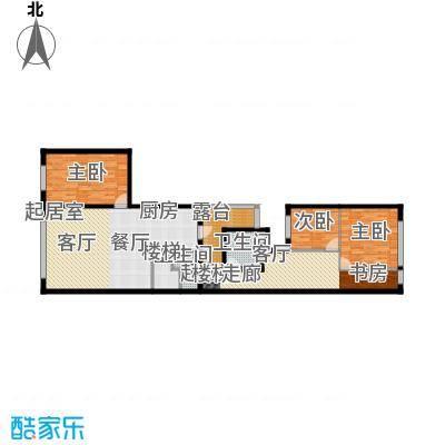 思罕国际复式公寓124.48㎡