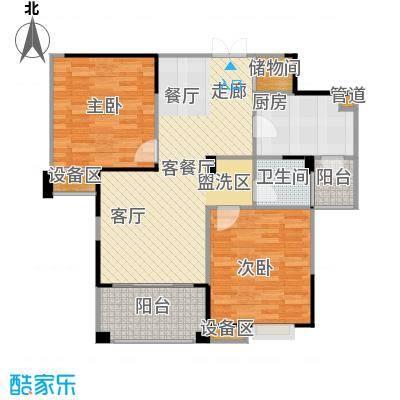 东海豪园9927-10474M2户型