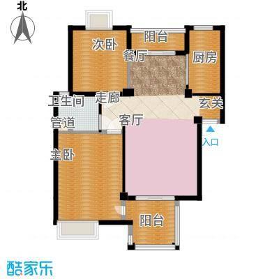 万科四季花城DS2a-2Z户型