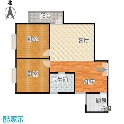 三丰公寓89.00㎡89m2户型